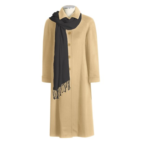 Jonathan Michael A-Line Cashmere Coat (For Women)