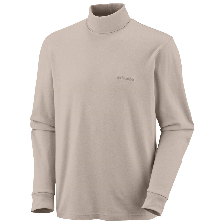 Columbia sportswear turtleneck shirt for men 4522v for Turtle shirts for men