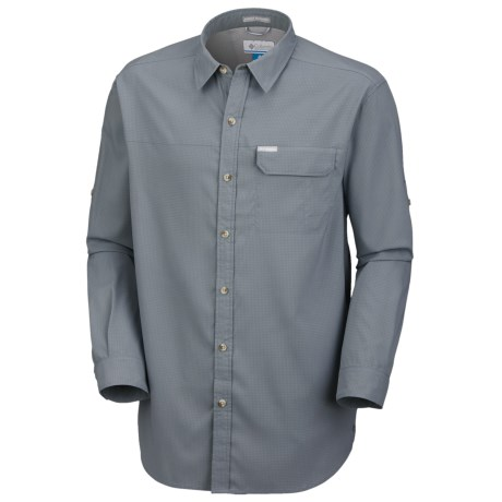 Columbia Sportswear Bug Shield Shirt - UPF 40, Long Sleeve (For Tall Men)