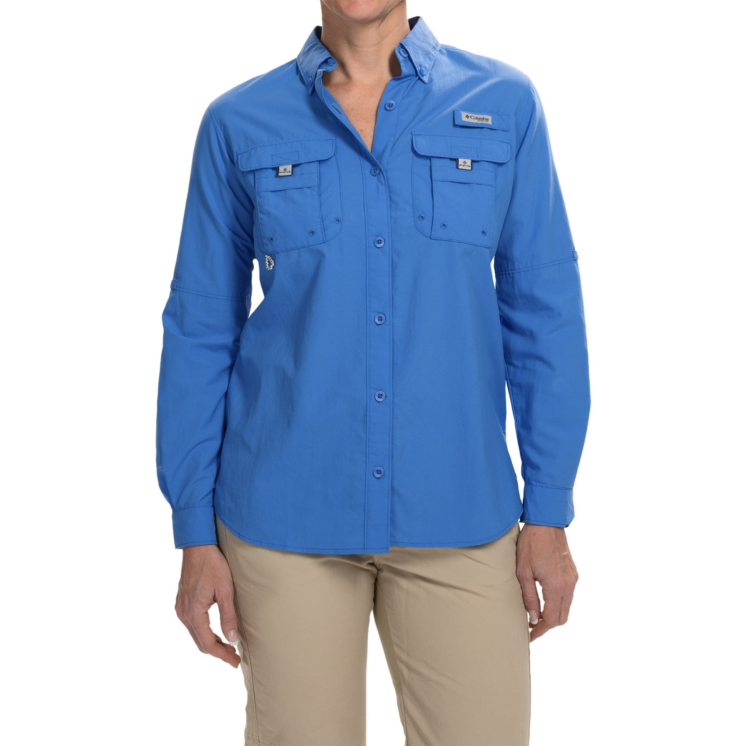 Columbia sportswear pfg bahama shirt for women 4524a for Columbia shirts womens pfg