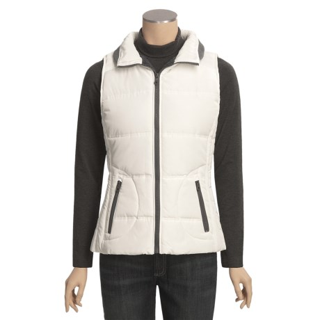 Weatherproof Fleece-Lined Vest (For Women)