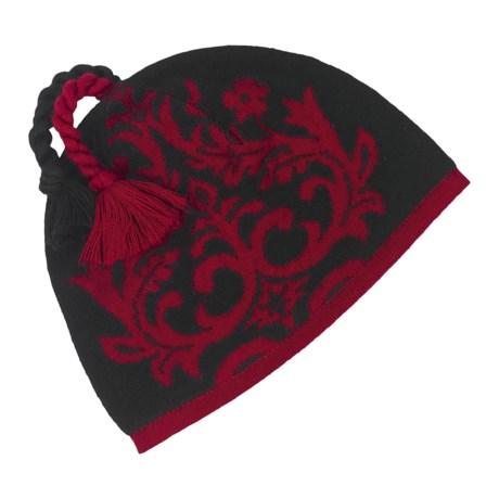 Neve Quinn Beanie Hat - Merino Wool (For Women)