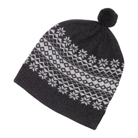 Neve Blanca Slouchy Hat - Merino Wool (For Women)