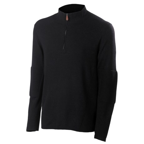 Neve Tom Sweater - Cotton-Merino Wool, Zip Neck (For Men)