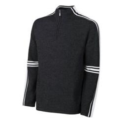 Neve Gordon Sweater - Merino Wool, Zip Neck (For Men)