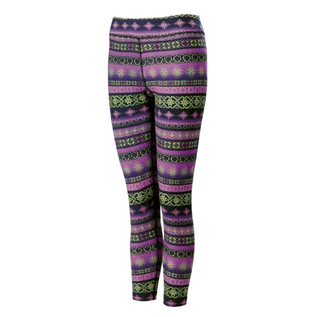 Neve Fair Isle Pants - Stretch Cotton-Silk (For Women)