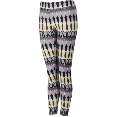 Neve Feathers Pants - Stretch Cotton-Silk (For Women)