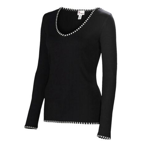 Neve Premiere Shirt - Merino Wool-Silk, Lightweight, Long Sleeve (For Women)