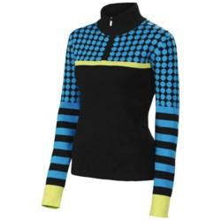 Neve Cami Sweater - Zip Neck (For Women)