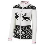 Neve Hazel Zip Cardigan Sweater - Merino Wool (For Women)