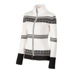 Neve Blanca Zip Sweater - Ultrafine Merino Wool (For Women)