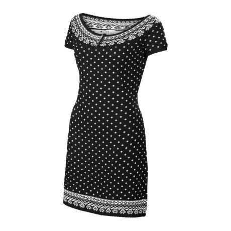 Neve Pascal Dress - Merino Wool, Short Sleeve (For Women)