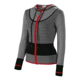 Neve Avery Combed Cotton Hoodie Sweater - Full Zip (For Women)