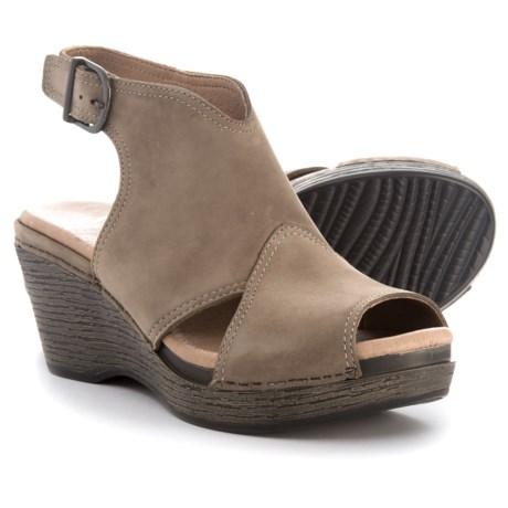 Dansko Vanda Wedge Sandals - Leather (For Women)