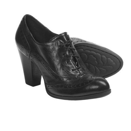 Born Waverly High-Heel Oxford Shoes - Leather (For Women)