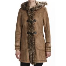 Weatherproof Faux-Shearling Toggle Coat (For Women)