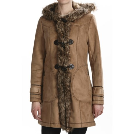 Weatherproof Faux-Shearling Toggle Coat (For Women)