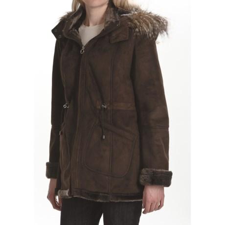 Weatherproof Faux-Shearling Coat (For Women)
