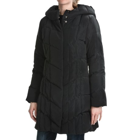 Weatherproof Down Coat - Hooded (For Women)