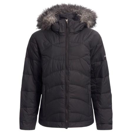 Columbia Sportswear Snow Furry Down Jacket (For Plus Size Women)