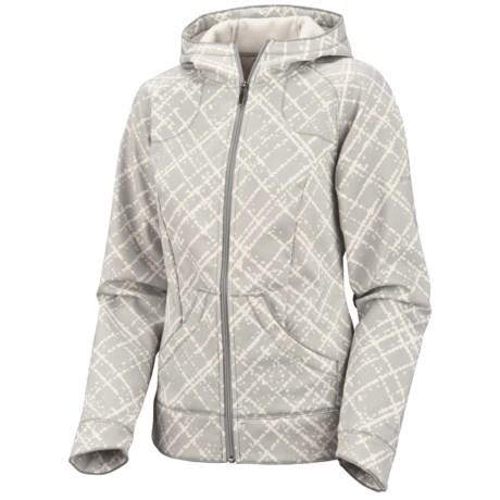 Columbia Sportswear Sweet Slope Hooded Jacket - Soft Shell (For Women)