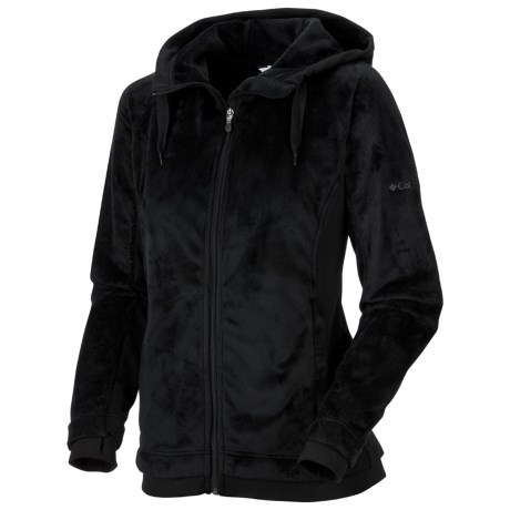 Columbia Sportswear Plush Peak Hooded Jacket - Fleece (For Women)