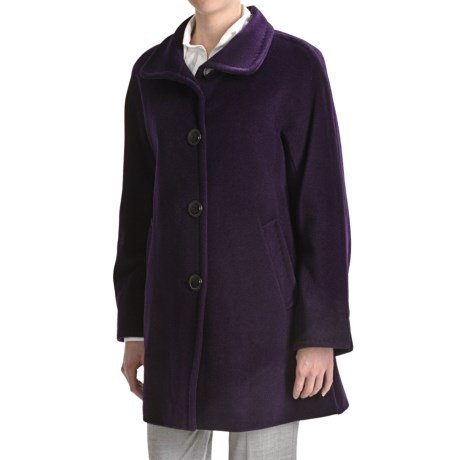 Ellen Tracy Outerwear Kimono Coat - Wool-Angora (For Women)
