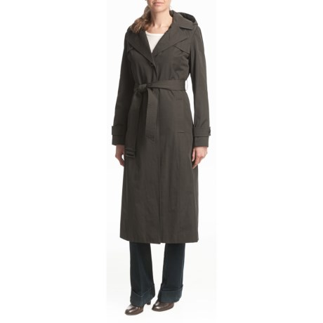 Ellen Tracy Outerwear Trench Coat - Quilted Liner, Full Length (For Women)