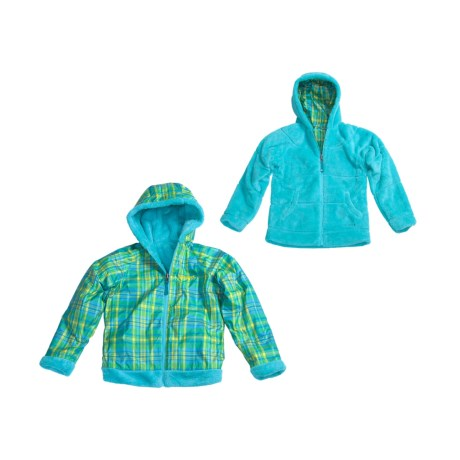 Marmot Gemini Jacket - Fleece, Reversible (For Girls)