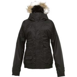 Burton Tabloid Jacket - Insulated, Faux Fur-Trimmed Hood (For Women)