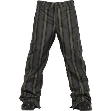 Burton The White Collection Smuggler Snow Pants - Waterproof (For Men)