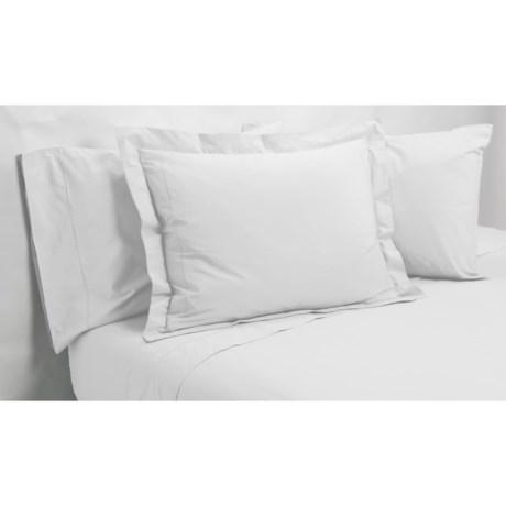 Christy Renaissance Flat Sheet - Full, 400TC Egyptian Cotton Percale