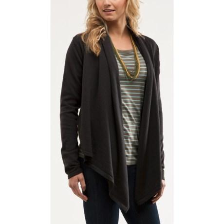 Carve Designs Wellington Wrap Sweater - Merino Wool (For Women)