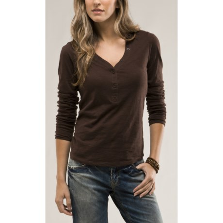 Carve Designs Newport Shirt - Long Sleeve (For Women)