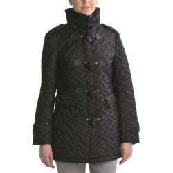 Cole Haan Signature Quilted Toggle Coat (For Women)