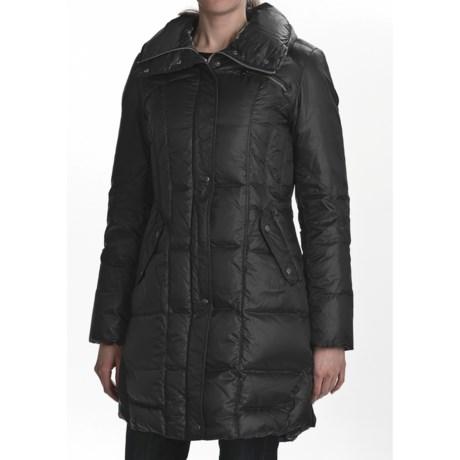 Cole Haan Travel Packable Down Coat - Oversized Collar (For Women)