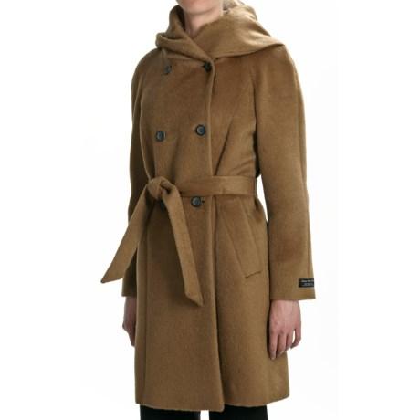 Cole Haan Suri Alpaca Coat - Oversized Collar (For Women)
