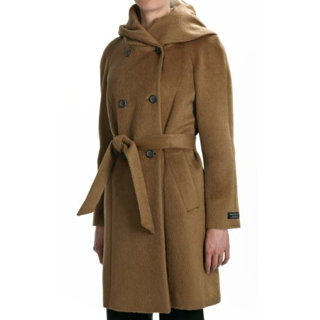 Cole Haan Suri Alpaca Coat - Oversized Collar (For Women)