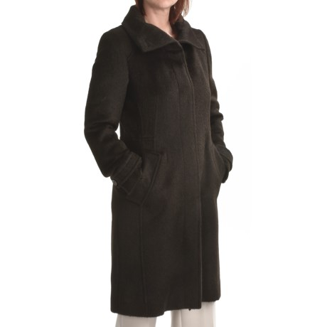 Cole Haan Suri Alpaca Coat (For Women)