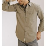 Stetson Vintage Solid Oxford Shirt - Long Sleeve (For Men)
