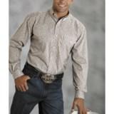 Roper Amarillo Shirt - Climbing Stripe, Long Sleeve (For Tall Men)