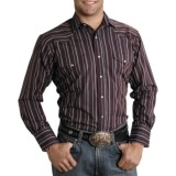 Roper Karman Quartz Stripe Shirt - Pearlized Snaps, Long Sleeve (For Men)