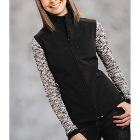 Roper Wind-Resistant Vest - Soft Shell (For Women)