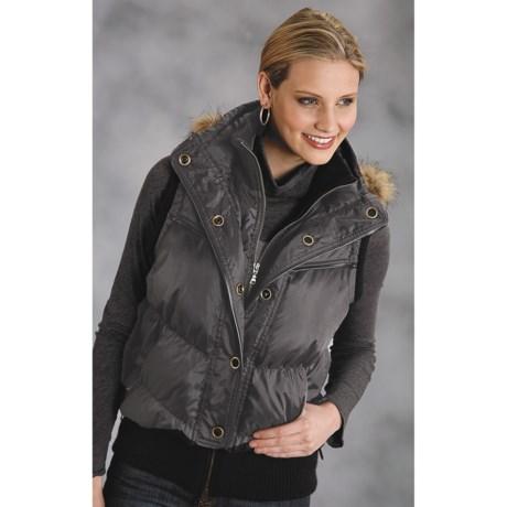 Roper Military Style Down Vest (For Women)