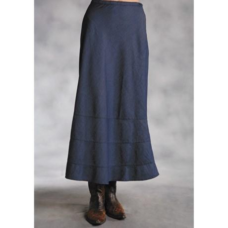 Roper Native Heritage Denim Skirt - A-Line (For Women)