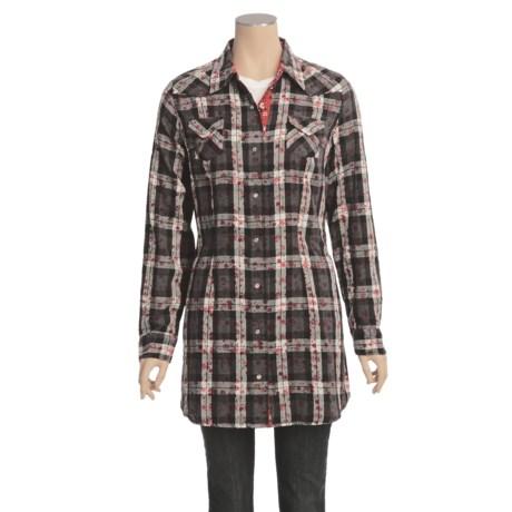 Roper Electric Spirit Tunic Shirt - Long Sleeve (For Women)