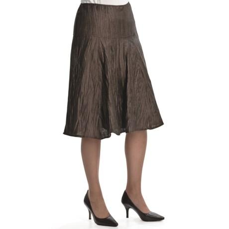 Louben Crinkle Linen Skirt (For Women)
