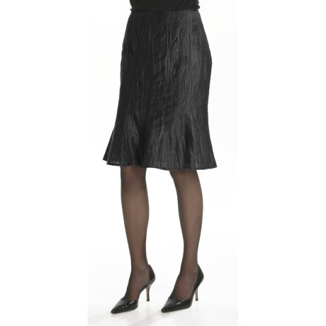 Louben Crinkle Linen Trumpet Skirt (For Women)