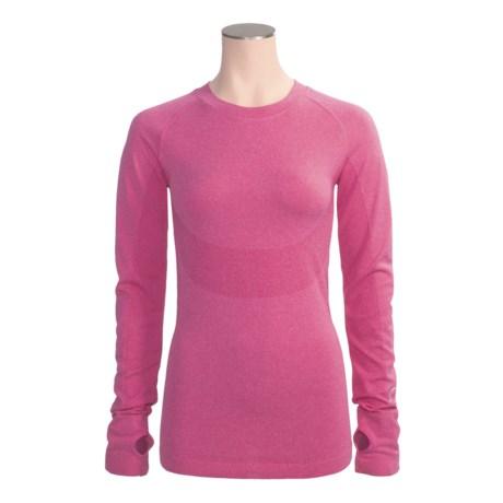 Climawear Seamless Running Shirt - Long Sleeve (For Women)