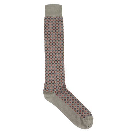 Byford® Diamond Pattern Socks - Pima Cotton Blend (For Men)